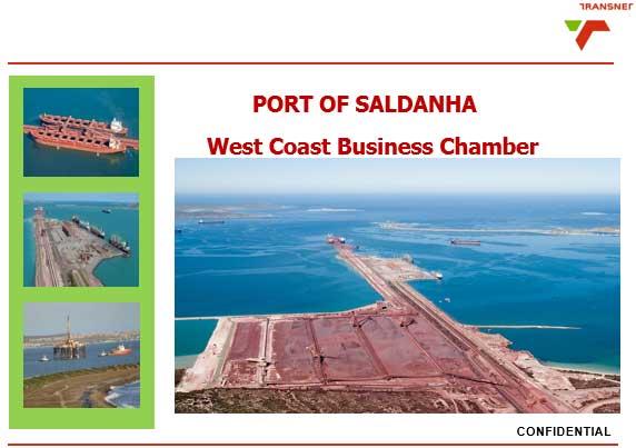 Port of Saldanha presentation by Transnet